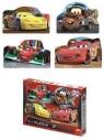 Puzzle Dino 4x54 Cars 2 (333017)