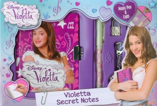 Disney Violetta Sekretny pamiętnik + breloczek  (105950301)