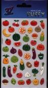 Naklejka Puffy mini owoce i warzywa