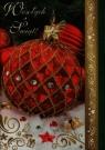 Kartka B6 z opłatkiem MIX Boże Narodzenie AVANTI