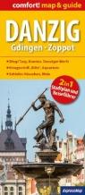 Danzig Gdingen- Zoppot map& guide (GER) (laminat) praca zbiorowa