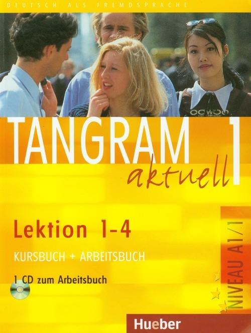 Tangram aktuell 1 Kursbuch + Arbeitsbuch + CD