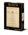 Puzzle Museum Collection Leonardo Vitruvian Man 500 elementów (35001)