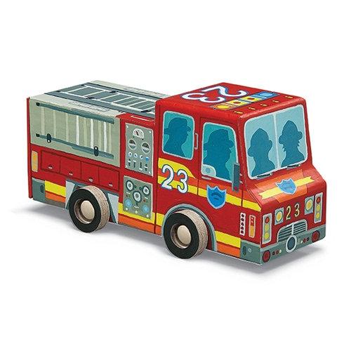 Puzzle Straż Pożarna 48