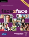 face2face Upper-Intermediate Student's Book + DVD Redston Chris, Cunningham Gillie