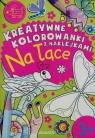 Kreatywne kolorowanki z naklejkami Na łące