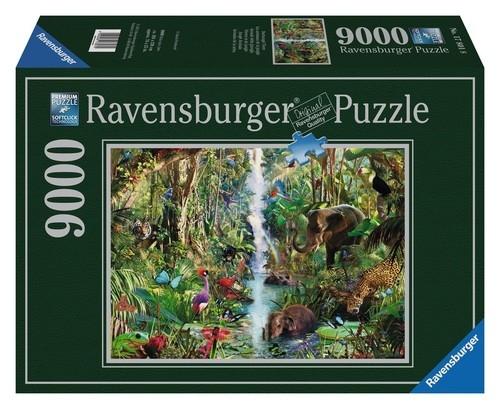 Puzzle 9000: Zwierzęta w dżungli (178018)