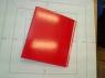 Segregator ringowy Vaupe FCK 40 mm 4 ringi A5 czerwony (059/01)