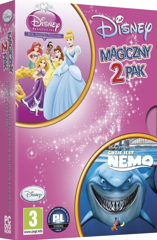 Księżniczka Bajkowa Przygoda + Gdzie jest Nemo PC