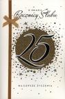 Karnet 25 rocznica ślubu A5 HM-100-742