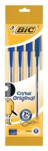 Długopis Cristal Original Niebieski 4 sztuki
