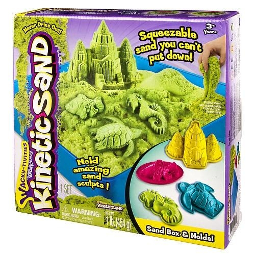 Kinetic Sand Podwodny świat 454g zielony (5909997)