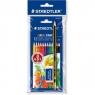 Kredki drewniane Staedtler Noris 12 kolorów + ołówek 120 HB i gumka (S 144 NC12 SET6)