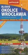 Bliskie okolice Wrocławia część południowo-zachodnia, 1:50 000