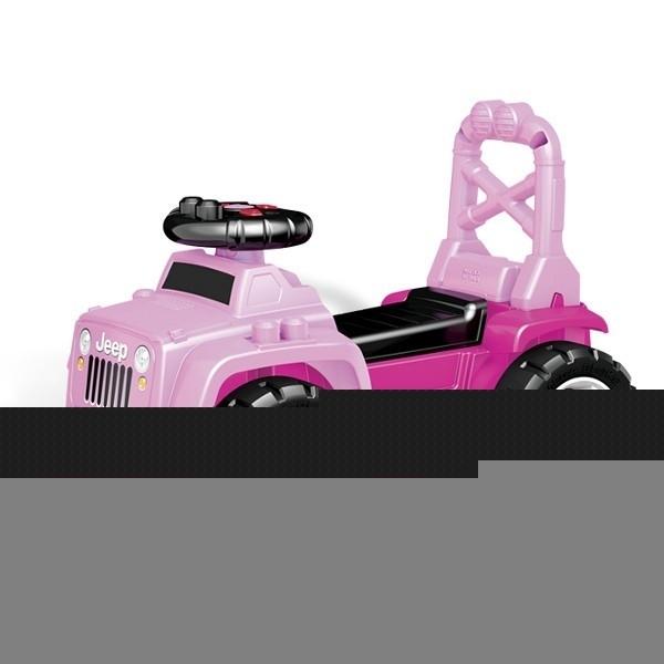 Jeep 3w1 różowy