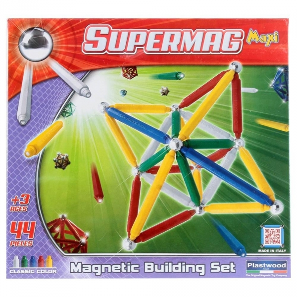 Klocki konstrukcyjne. SupermagMaxi Classic 44