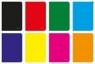 Zeszyt A4 Rainbow w kratkę 96 kartek 5 sztuk mix