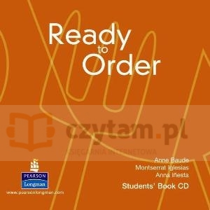 Ready to Order Class CD Iglesias, Inesta, Baude