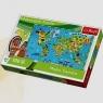 Puzzle edukacyjne 100: Mapa świata (15502)