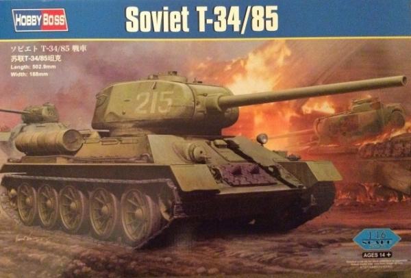 HOBBY BOSS WWII Soviet T -34/85
