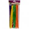 Druciki kreatywne, tęczowe kolory, 10 sztuk
