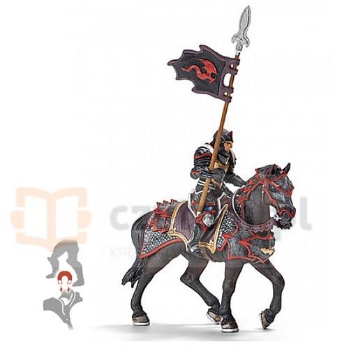 Rycerz Smoka z lancą na koniu (70102)
