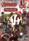 Zestaw wyklejanek z naklejkami. Avengers Assemble