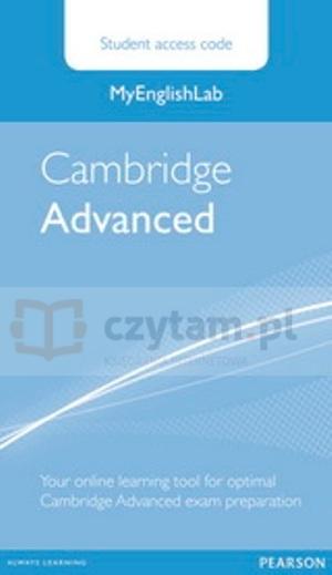 MyEnglishLab Cambridge Advanced StudentAccesCodeCard