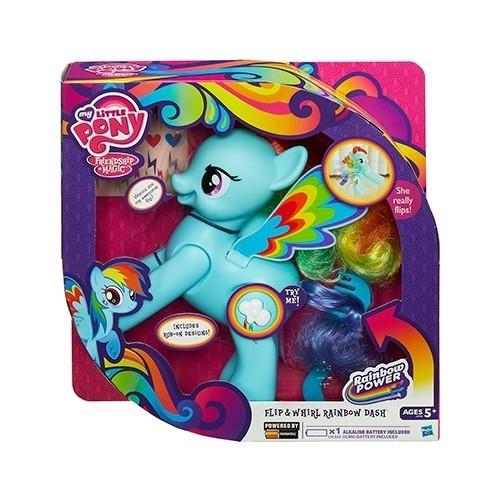 My Little Pony Robiąca salto Rainbow Dash  (A5905)