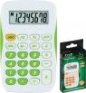 Kalkulator kieszonkowy biało-zielony TR-295-N (120-1770)