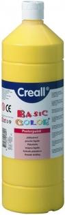 Farba tempera Creall Basic Color 1000ml - żółty podstawowy nr 02