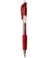 Długopis żelowy automatyczny czerwony 12 sztuk