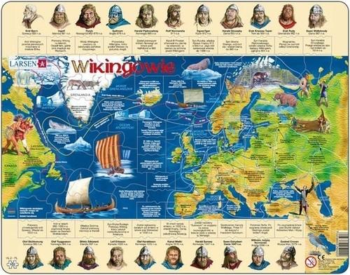 Puzzle Wikingowie 102