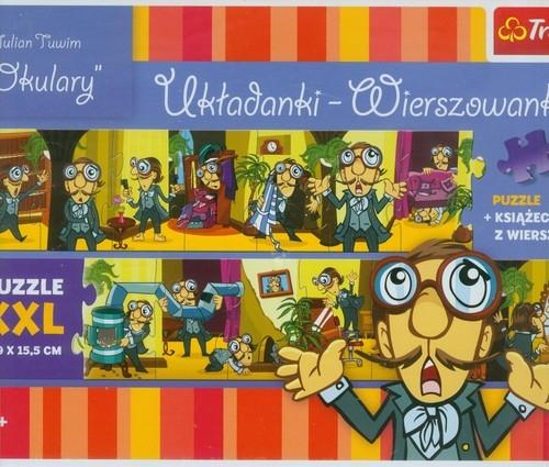 Puzzle 14 Układanki Wierszowanki Okulary  (36202)