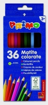 Kredki drewniane sześciokątne Primo 36 kolorów