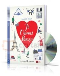 LF Je t'aime Paris książka + CD A2