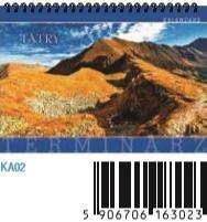 Kalendarz Terminarz Tatry 2016 KA02