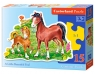 Puzzle konturowe A Little Beautiful Foal 15 elementów (015023)