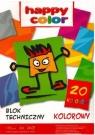 Blok techniczny A3 kolorowy,20 Kartek