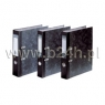 Segregator dźwigniowy Vaupe A4/75 marmurek czarny (001/02)