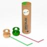 Dmuchajka w tubie - dwupak zielona + naturalna