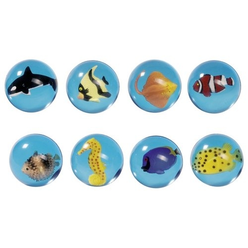 Piłka kauczukowa zwierzęta morskie (GOKI-16002)