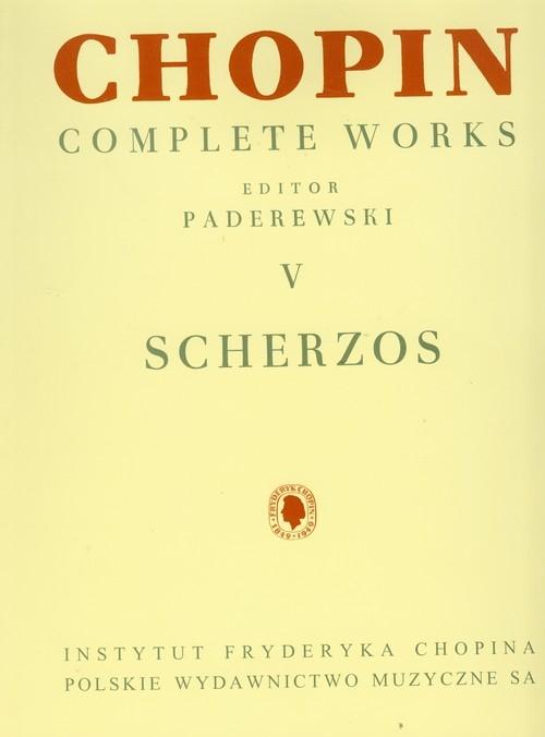 Chopin Complete Works V Scherza