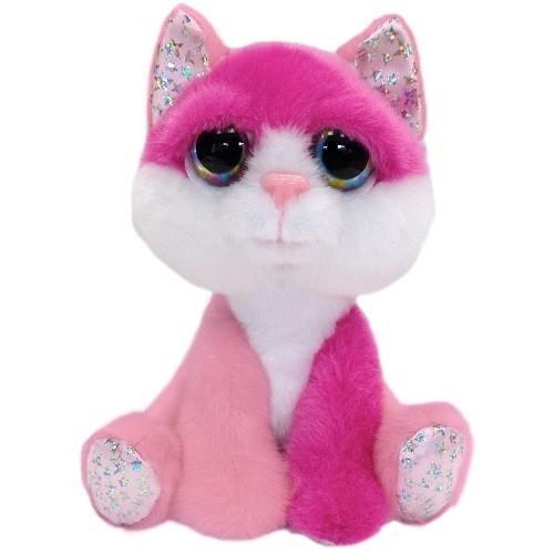 Kot różowy Alexis 15 cm