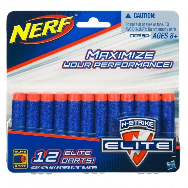 Nerf Elite 12 Strzałek (A0350)