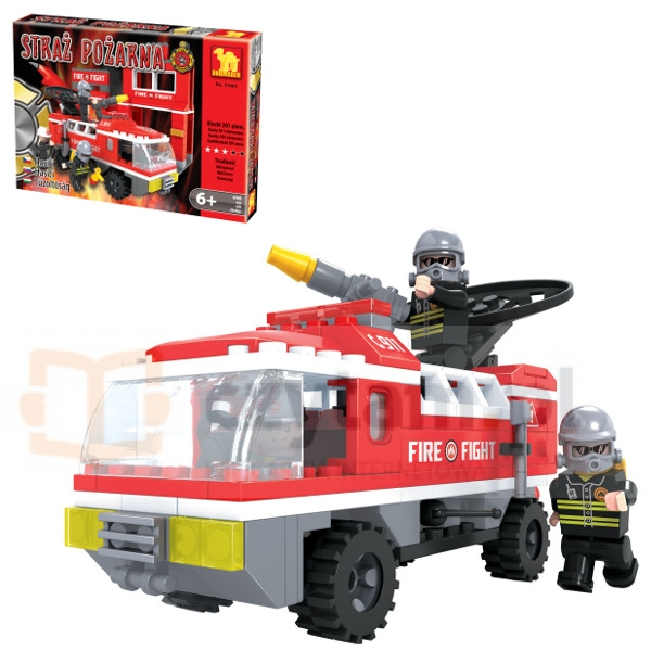 DROMADER Klocki Straż Pożarna  301 el. (21602)