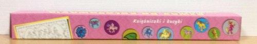 Kolorowanki podłogowe z naklejkami księżniczki i kucyki