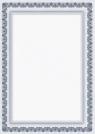 Dyplom Galeria Papieru arkady niebieskie A4
