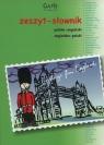 Zeszyt A5 słownik polsko-angielski angielsko-polski w kratkę 96 kartek