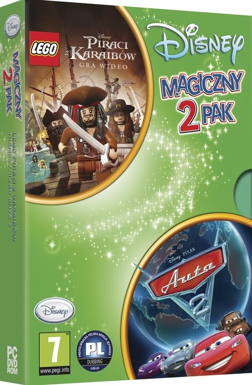 Lego Piraci + Auta 2 PC